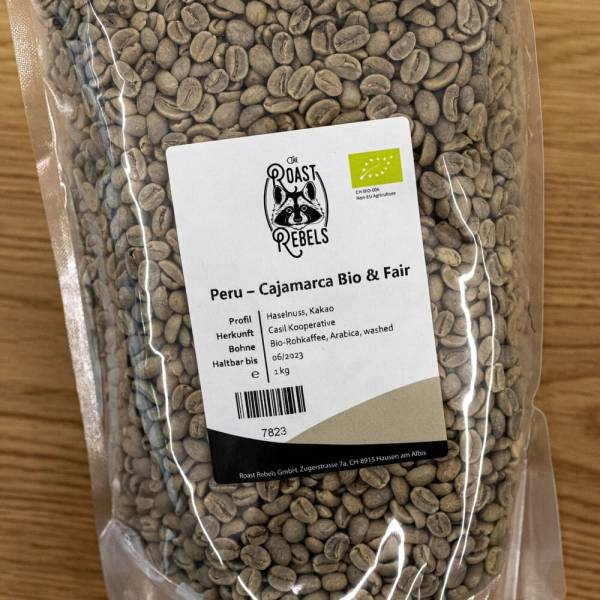 Bio Rohkaffee Peru SHB