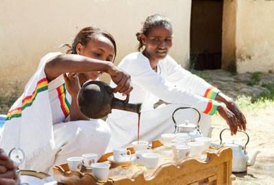 Äthiopien Sidamo Rohkaffeebohnen