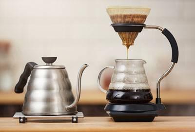 Kaffeeröstung für Filter