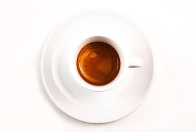 Kaffeeröstung für Espresso