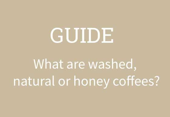 washed natural honey coffee