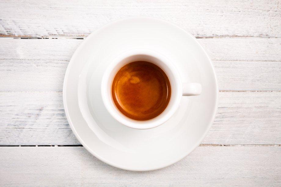 Espresso mit Crema