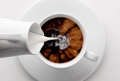 Kaffeeröstung für Café Crème