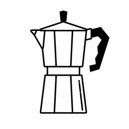 Kaffee rösten für Bialetti Moka Kanne