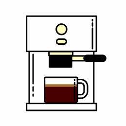Kaffeebohne für Espresso