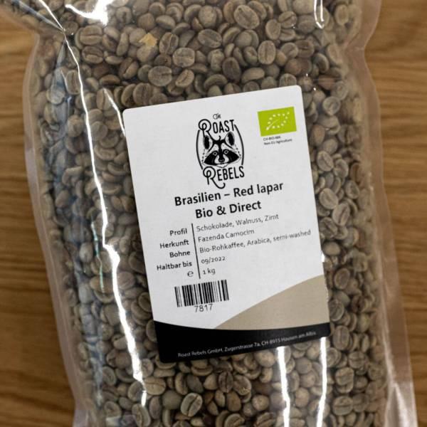 Bio Demeter Rohkaffee Brasilien