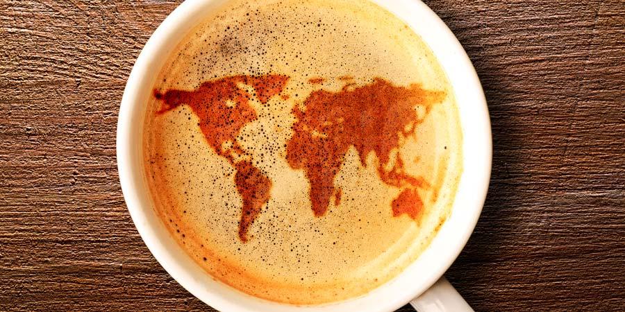 Unterschiede Kaffees